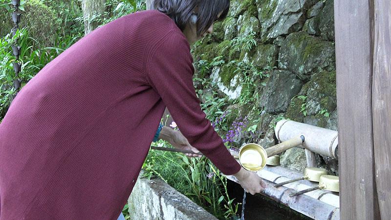 手水の手順